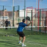 Defensa en el padel